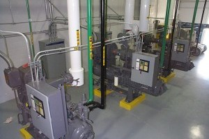 Central Freon Compressors
